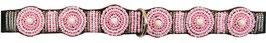 Halsband Round Pink