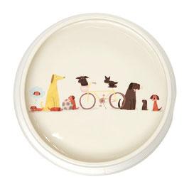 2015 Dog Tales Round Dog Bowl - Napf
