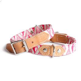 Halsband Geo Pink