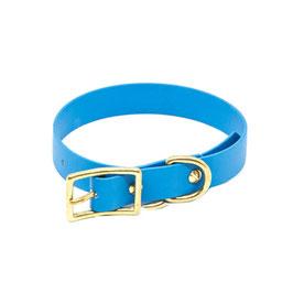 Halsband Biothane - Hellblau