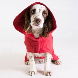 Hunde-Bademantel Brick Red
