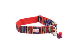 Halsband Boho Red