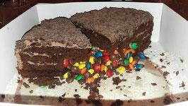 Chocoladetaart met verrassing