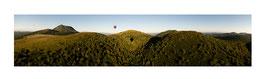 Panoramique Vert Ciel  Chaîne des Puys
