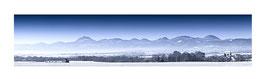 Panoramique Blanc Chaîne des Puys