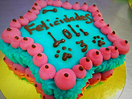 Tarta de cumpleaños individual