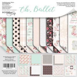 PSB-60 La coleccion  Oh, ballet  20x20 cm