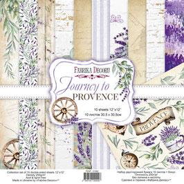 La coleccion Journey to Provence Fabrica Decoru 30,5x30,5 cm