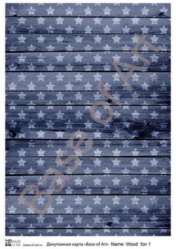 PA4-105 Wood fone with stars