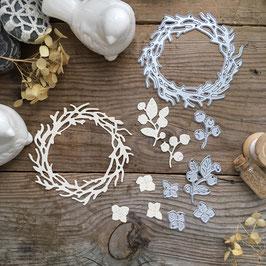 Troquel Mimicut Weave a wreath (MMC-C0024)