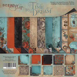 PSB-07 Papel scrapbooking 20x20 cm Time to dream