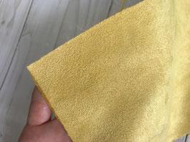 Antelina color amarillo apagado (más fina)