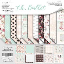 PSB-60 La coleccion   Oh, ballet  30x30 cm