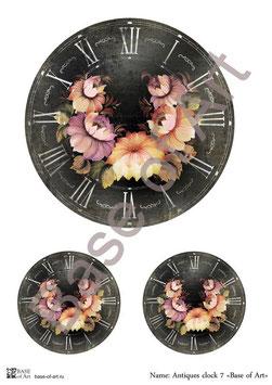 PA4-106 Antigues clock 6