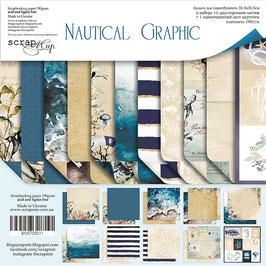 La coleccion  30,5x30,5 cm. Nautical Graphic NEW! (llega en una semana)