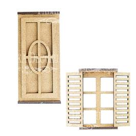 Kit puerta y ventana