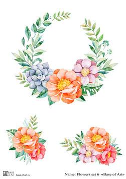 Flowers set 6