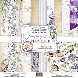 La coleccion Journey to Provence Fabrica Decoru 20x20 cm