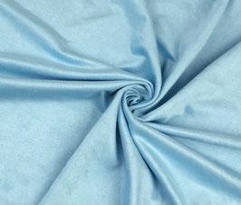 Antelina elástica color azul claro (fina)