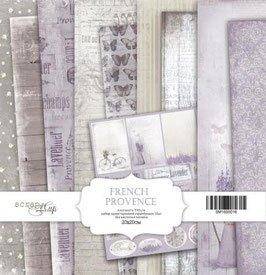 PSB-03 Papel scrapbooking 30x30 cm French provence