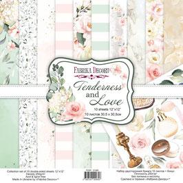 La coleccion Tenderness and Love Fabrica Decoru 30,5x30,5 cm