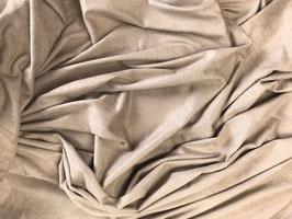 Antelina elástica color beige oscuro (fina)