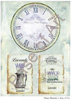 PA4-126 Reloj vintage 1