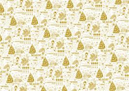 PSB-60 Plastico foil dorado