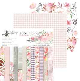 La coleccion Love in bloom 30x30 cm