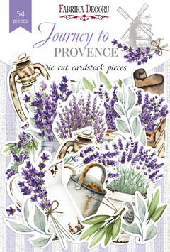 Die cut Journey to provence