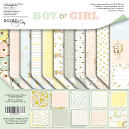 PSB-64 La coleccion  Boy or Girl 30x30 cm