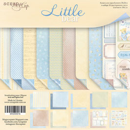 PSB-12 Papel scrapbooking 20x20 cm Little bear