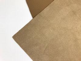 Antelina elástica color marrón claro  (gruesa)
