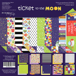 """Kit con la colección """"Ticket to the moon"""""""