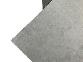 Antelina elástica color gris claro  (gruesa)