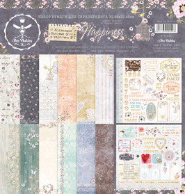 PSB-20  Papel scrapbooking 30x30 cm Happiness