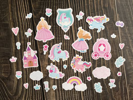 "Die cut ""My princess"""