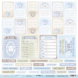 PSB-34-2 Hoja para recortar tarjetas 30x30 cm Mommy´s hero