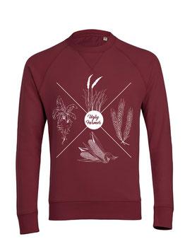 #4Jahreszeiten Sweatshirt in Burgundy