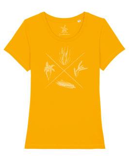#4Jahreszeiten T-Shirt für Mädchen in Spectra Yellow