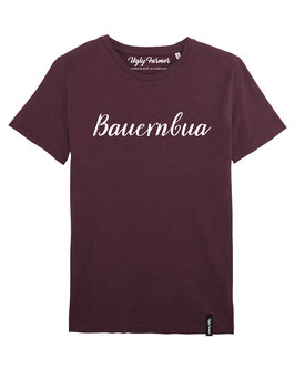 #Bauernbua T-Shirt in Heather Grape Red