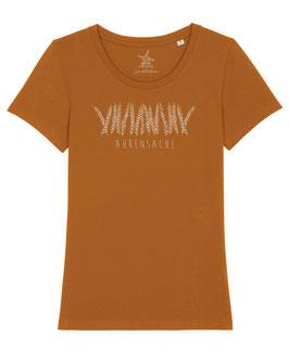#Ährensache T-Shirt für Mädchen in Roasted Orange