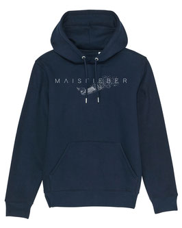 #Maisfieber Hoodie in French Navy