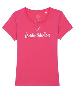 #Landmädchen T-Shirt in Pink