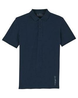 #Basic Poloshirt in French Navy