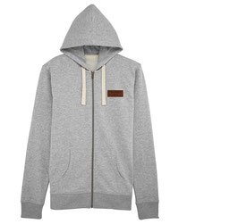 #Basic Kapuzensweatshirt in Heather Grey