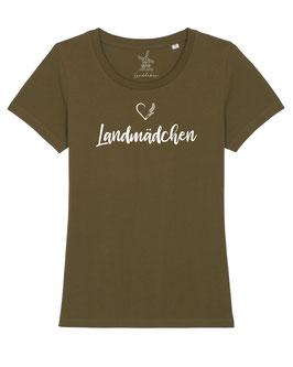 #Landmädchen T-Shirt in British Khaki