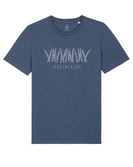 #Ährensache T-Shirt in Dark Heather Blue