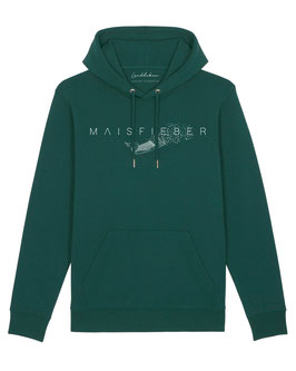#Maisfieber Hoodie in Glazed Green