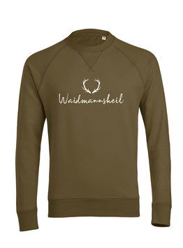 #Waidmannsheil Sweatshirt in British Khaki